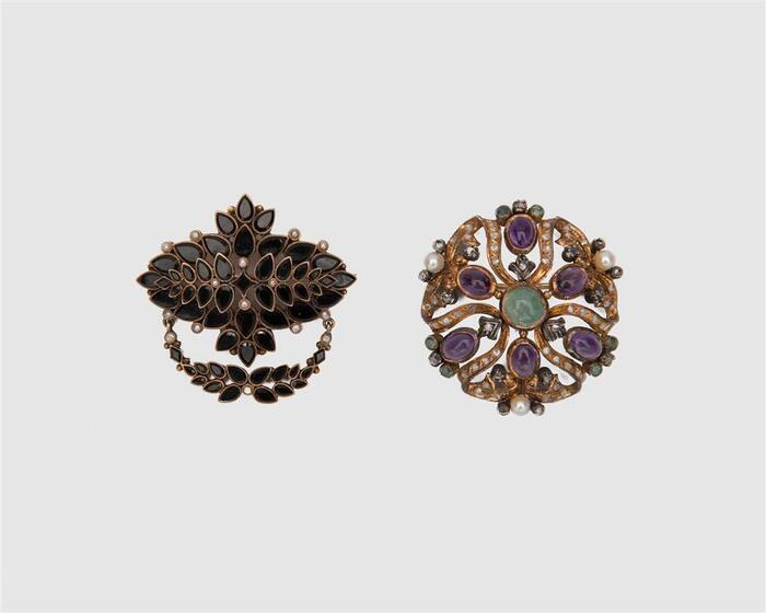 Two Brooches