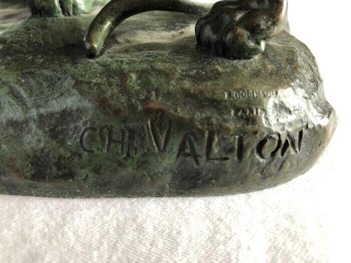 Charles Valton, (French, 1851-1915)