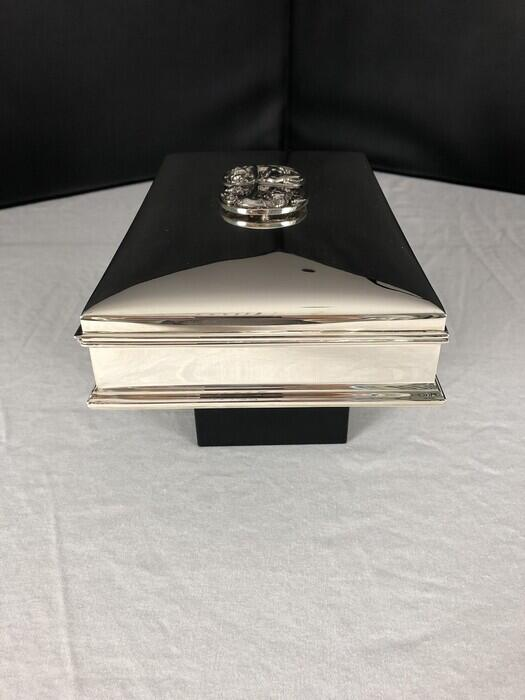 Gorham Sterling Jewelry Casket