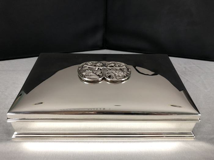 sterling jewelry casket