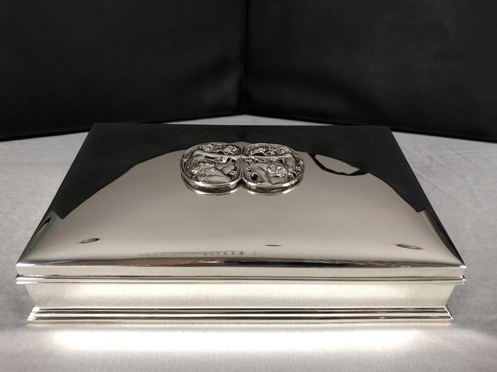 sterling jewelry casket