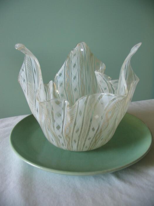 venetian glass bowl