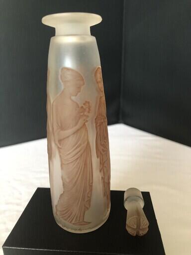 Reneacute Lalique Perfume Bottle