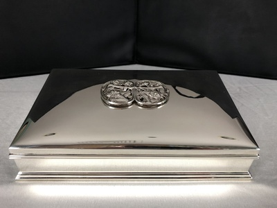 additional images for Gorham Sterling Jewelry Casket